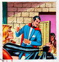 Original Comic Art:Covers, Yalcin Dagli Sihirbaz (Mandrake) Painted Cover Original Art(undated)....