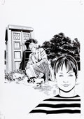Original Comic Art:Covers, Dave Sim Doctor Who: Prisoners of Time #5 Cover Original Art(IDW, 2013)....