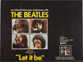 Music Memorabilia:Posters, Beatles Let It Be UK Movie Poster (Leonard Ripley & Co.,1970)....