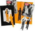 "Movie/TV Memorabilia:Props, A Prop LIFE Magazine from ""JFK.""..."