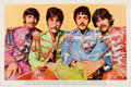 Music Memorabilia:Posters, Beatles Sgt. Pepper's Lonely Hearts Club Band Fan ClubPoster (EMI, 1967)....