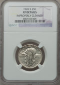Standing Liberty Quarters: , 1926-S 25C -- Improperly Cleaned -- NGC Details. XF. NGC Census:(4/302). PCGS Population (11/459). Mintage: 2,700,000. Num...