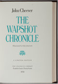 Books:Signed Editions, John Cheever. SIGNED. The Wapshot Chronicles. Franklin Library, 1978. Signed in fore papers by author and prot...
