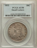 Bust Half Dollars: , 1832 50C Small Letters AU50 PCGS. PCGS Population (224/1178). NGCCensus: (142/1392). Mintage: 4,797,000. Numismedia Wsl. P...