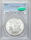 Morgan Dollars: , 1899 $1 MS65 PCGS. CAC. PCGS Population (1099/216). NGC Census:(588/81). Mintage: 330,846. Numismedia Wsl. Price for probl...