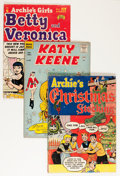 Golden Age (1938-1955):Humor, Archie and Katy Keene Comics Group (Archie, 1952-64) Condition: Average FR/GD.... (Total: 15 Comic Books)
