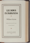Books:Signed Editions, William Styron. SIGNED/LIMITED. Lie Down in Darkness. Franklin Press, 1982. Signature by author in fore papers...