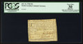Colonial Notes:North Carolina, Low Serial Number North Carolina July 14, 1760 10s PCGS ApparentVery Fine 30.. ...