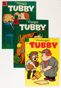 Marge's Tubby File Copies Group (Dell, 1954-61) Condition: Average NM-.... (Total: 50 Comic Books)