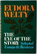 Books:Signed Editions, Eudora Welty. SIGNED. The Eye of the Story: Selected Essays & Reviews. Random House, 1977. Signed on half tit...