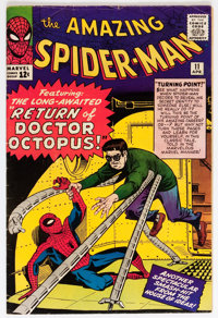 The Amazing Spider-Man #11 (Marvel, 1964) Condition: VG+