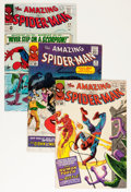 Silver Age (1956-1969):Superhero, The Amazing Spider-Man #21, 22, and 29 Group (Marvel, 1965).... (Total: 3 Comic Books)