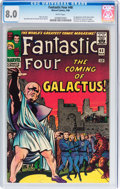 Silver Age (1956-1969):Superhero, Fantastic Four #48 (Marvel, 1966) CGC VF 8.0 White pages....