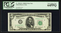 Small Size:Federal Reserve Notes, Fr. 1965-B* $5 1950D Federal Reserve Star Note. PCGS Very Choice New 64PPQ.. ...