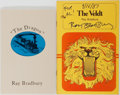 Books:Signed Editions, Ray Bradbury. Group of Two. The Dragon and The Veldt. Footsteps Press and Perfection Form, 1988 and ... (Total: 2 Items)