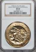 So-Called Dollars, 1948 Gold Discovery Centennial MS66 NGC. HK-496. Brass....