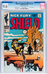 Nick Fury, Agent of S.H.I.E.L.D. #7 (Marvel, 1968) CGC NM+ 9.6 Off-white to white pages