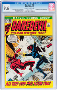 Daredevil #83 (Marvel, 1972) CGC NM+ 9.6 Off-white to white pages