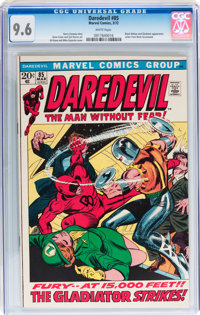 Daredevil #85 (Marvel, 1972) CGC NM+ 9.6 White pages