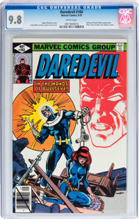 Daredevil #160 (Marvel, 1979) CGC NM/MT 9.8. White pages