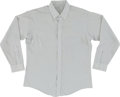 Music Memorabilia:Costumes, Elvis Presley Owned and Worn Dress Shirt (1960s)....