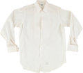 Music Memorabilia:Costumes, Elvis Presley Owned and Worn Tuxedo Shirt....