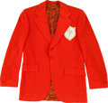 Music Memorabilia:Costumes, Elvis Presley TCB Tour Jacket....