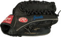 Baseball Collectibles:Others, 2005-07 Zack Greinke Game Worn Kansas City Royals Glove. ...