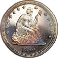 Proof Seated Quarters, 1890 25C PR68 NGC....
