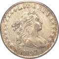 Early Dollars, 1797 $1 10x6 Stars, Large Letters AU50 PCGS. B-3, BB-71, R.2....