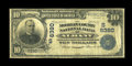 National Bank Notes:Alabama, Albany, AL - $10 1902 Plain Back Fr. 632 The Morgan County NB Ch. # (S)6380. ...