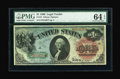 Large Size:Legal Tender Notes, Fr. 18 $1 1869 Legal Tender PMG Choice Uncirculated 64 EPQ....