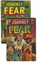 Golden Age (1938-1955):Horror, Journey Into Fear #11 and 17 Group (Superior, 1953-54).... (Total:2 Comic Books)