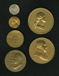U.S. Presidents & Statesmen, Lot of Six Presidential Medals.... (Total: 6 medals)
