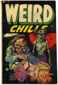 Golden Age (1938-1955):Horror, Weird Chills #1 (Key Publications, 1954) Condition: VG+....