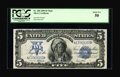 Fr. 280 $5 1899 Mule Silver Certificate PCGS About New 50