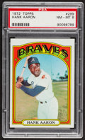 Baseball Cards:Singles (1970-Now), 1972 Topps Hank Aaron #299 PSA NM-MT 8....