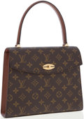 Luxury Accessories:Bags, Louis Vuitton Classic Monogram Canvas Malesherbes Top Handle Bag....