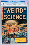 Golden Age (1938-1955):Science Fiction, Weird Science #18 (EC, 1953) CGC FN/VF 7.0 Cream to off-whitepages....