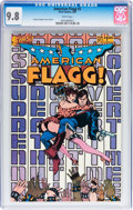 Modern Age (1980-Present):Science Fiction, American Flagg #5 (First Comics, 1984) CGC NM/MT 9.8 White pages....