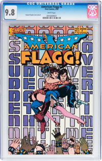 American Flagg #5 (First Comics, 1984) CGC NM/MT 9.8 White pages