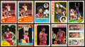 Basketball Cards:Lots, 1970's-80's Topps & Fleer Julius Erving Collection (25) WithRookie. ...