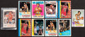 Basketball Cards:Lots, 1970's-80's Topps & Fleer Basketball Stars & HoFers Collection (58) Plus 76ers Team Set. ...