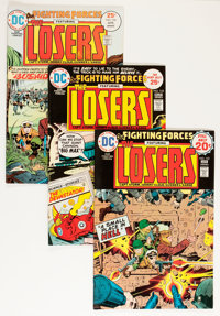 Our Fighting Forces Group - Savannah pedigree (DC, 1972-77) Condition: Average VF+.... (Total: 35 Comic Books)
