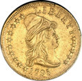 Early Eagles, 1795 $10 13 Leaves AU53 PCGS Secure. Breen-6830, BD-4, R.5. ...