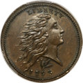 Large Cents, 1793 1C Wreath Cent, Lettered Edge MS64 Brown PCGS. CAC. S-11b, B-16b, R.4....