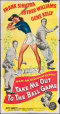"""Movie Posters:Musical, Take Me Out to the Ball Game (MGM, 1949). Three Sheet (41"""" X 78""""). Musical.. ..."""