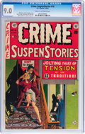Golden Age (1938-1955):Crime, Crime SuspenStories #18 (EC, 1953) CGC VF/NM 9.0 Cream to off-white pages....