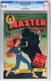 Master Comics #79 (Fawcett Publications, 1947) CGC VF 8.0 Off-white pages