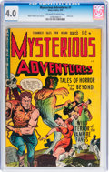 Golden Age (1938-1955):Horror, Mysterious Adventures #1 (Story Comics, 1951) CGC VG 4.0 Off-whiteto white pages....
